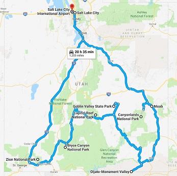 The Mighty Five Utah Map.Utah S Mighty 5 With A Tesla Tesla Motors Club